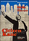 PostersAndCo TM Citizen Kane Film Rbrw-Poster/Reproduktion
