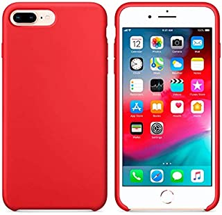 Silicone case for Apple iPhone 7 Plus / 8 Plus - Red