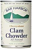 Bar Harbor Clam Chowder,Cherrystone, 15-ounces (Pack of 6)