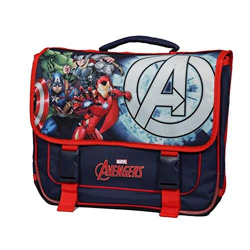 Bagtrotter Cartable 38cm Marvel Avengers Bleu Marine