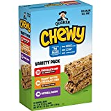 Quaker Chewy Granola Bars, 3 Flavor Variety Pack, (58 Pack)