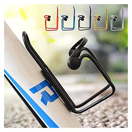 CZLSD Aleación de Aluminio Bicicleta de montaña Botella de Agua Jaula Bicicleta Ciclismo Bebida Botella Taza de Rack Titular Accesorios de Bicicleta Soporte (Color : 4)