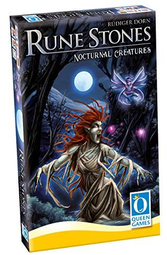 Queen Games 20262 - Rune Stones - Kreaturen der Nacht ( Erweiterung 1)