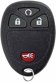 KeylessOption Keyless Entry Remote Car Key Fob Alarm for Cadillac Chevy GMC Saturn OUC60270, KOBGT04A