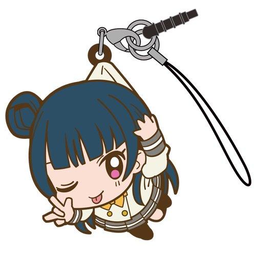 Love Live Sunshine Yoshiko Tsushima in Aquarium Costume COSPA Pinch Tsumamare Phone Strap Charm with Dust Plug Anime Art Collection