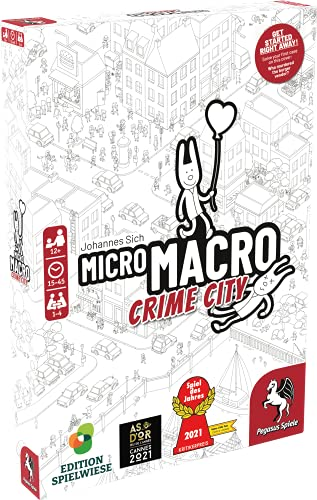 Pegasus Spiele 59060E - MicroMacro: Crime City (englische Ausgabe)
