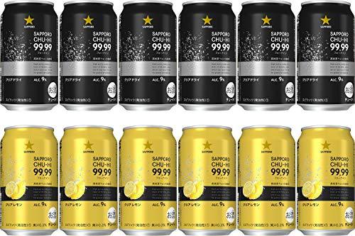 【純度99.99% の高純度ウォッカ使用のチューハイ】[新発売]サッポロ 99.99<フォーナイン>クリアレモン&クリ...
