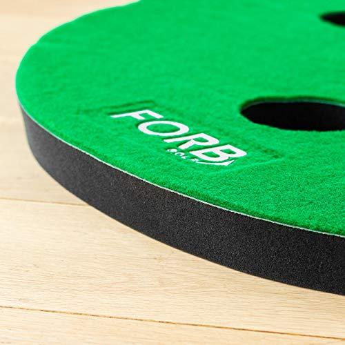 FORB Haus Golf Putting Matten – Praxis & Verbessern, Putt Striche, Golfübungsgeräte Zuhause [Net World Sports] - 2