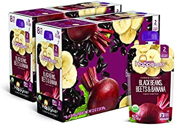 16-Pack Happy Baby Family Organic Clearly Crafted Stage 2 Baby Food
