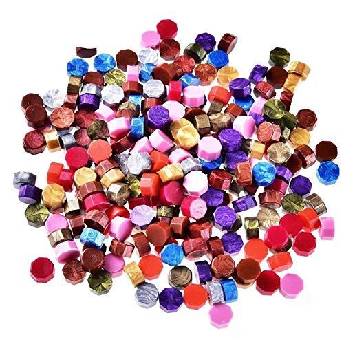 100 Pcs/Lot couleur mixte timbre cire Vintage sceau de cire timbre tablette pilule perles pour enveloppe mariage cire joint antique cire à cacheter, France