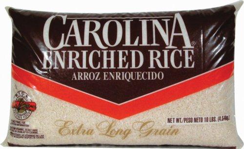 Carolina Enriched Extra Long Grain Rice 10 Lb