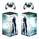 Xbox Series X Final Fantasy XIII Hope Estheim Skin, Decal, Vinyl, Sticker, Faceplate - Console and 2 Controllers - Protective Cover New SERIES X