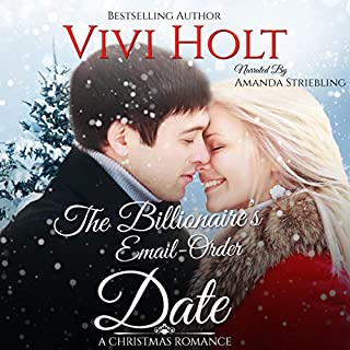 The Billionaire's Email-Order Date: A Christmas Romance audiobook cover art