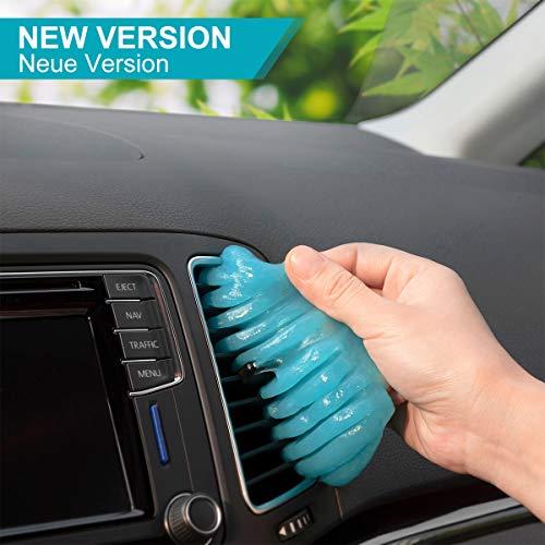 TICARVE Auto Reinigungsgel für den Innenraum, Auto Innenraum Reiniger Autositz Reiniger Autoreinigung Autopflege Tastatur Reiniger für Laptop