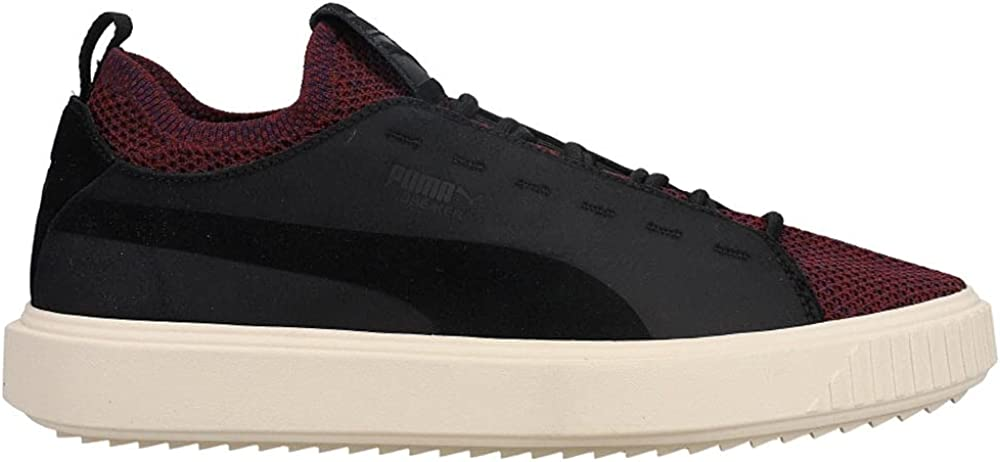 PUMA Mens Breaker Knit Baroque Lace Shoes Up - Opening Fees free!! large release sale Casual B Sneakers