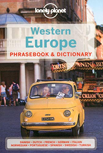 Lonely Planet Western Europe Phrasebook & Dictionary