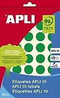 【APLI】手書き丸カラーラベル 40片 (AP-02745)