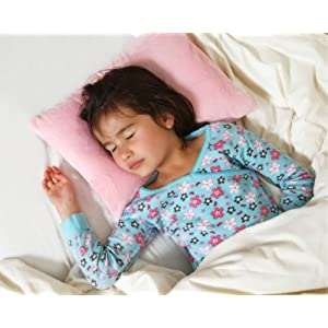 """My First Premium Memory Foam Kids Toddler Pillow with Pillowcase, Pink, 12"""" x 16"""""""