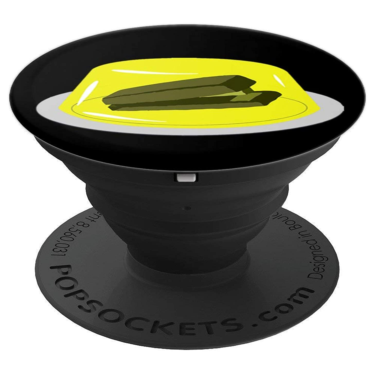 Stapler In Jello, Original Design - PopSockets Grip and Stand for Phones and Tablets
