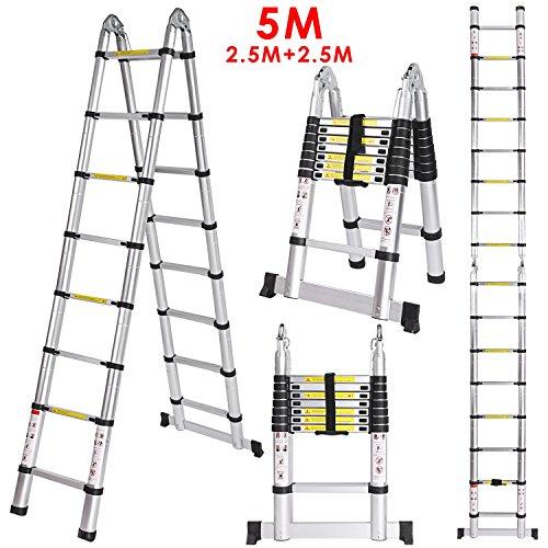 5M Escalera Telescópica,Escalera...