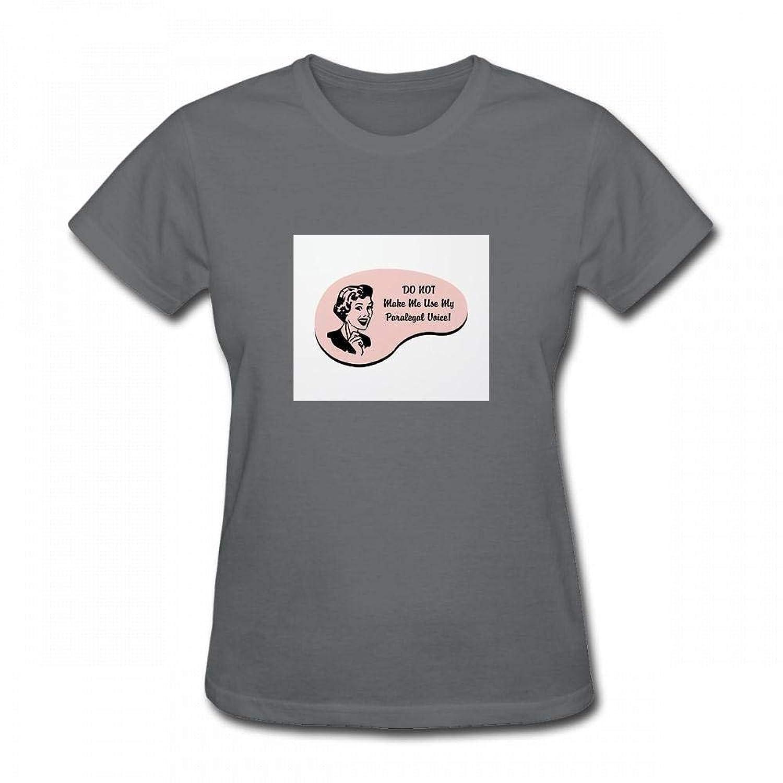 トップス パラリーガルの声 Women T-Shirt レディーズ Tシャツ