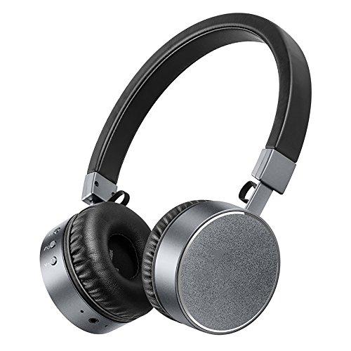Auriculares QFFL Bluetooth inalámbricos/Cabeza usable música/teléfono móvil/computadora / están Disponibles/Impermeables Anti-Sudor Bluetooth (Color : C)