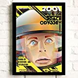 meishaonv A Space Odyssey Classic TV Movie Comics Arte de la Pared Decoración Pintura Impresión en Lienzo Póster Imágenes Decoración para el hogar A2457 50 × 70CM Sin Marco