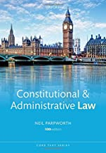 Constitutional & Administrative Law (Core Texts Series)