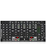 Behringer Pro Mixer VMX1000USB Professional 7-Channel Rack-Mount DJ Mixer with USB/Audio Interface