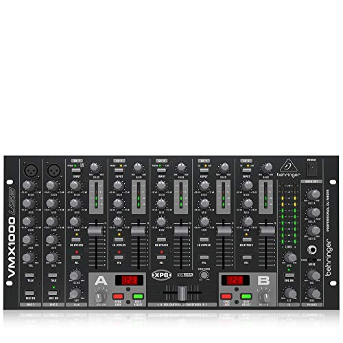 Behringer Pro Mixer VMX1000USB Professional 7-Channel Rack-Mount DJ Mixer with USB/Audio Interface. Buy it now for 219.00