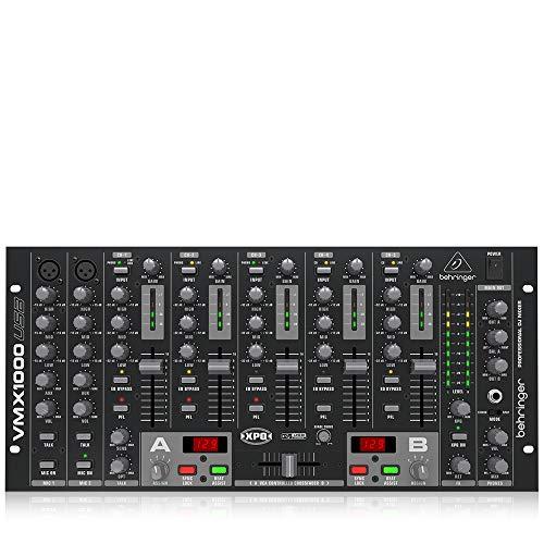 Behringer Pro Mixer VMX1000USB siete canales para DJ