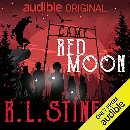 Camp Red Moon audiobook cover art