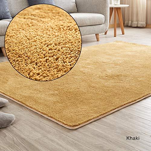 WZJ-CARPET Tapis Salon Chambre Simple Moderne IKEA Nordic Canapé Table Basse Chevet Mignon Lavable En Machine Doux Tapis De Velours (Color : G, Taille : 80x160cm)