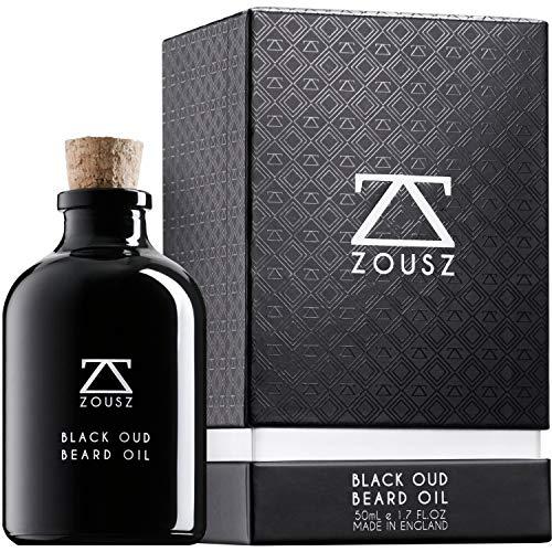 ZOUSZ Olio da Barba - Formula al Profumo di Oud Nero...