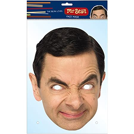 MR Bean mask (máscara/careta)
