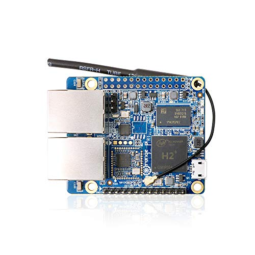 Orange Pi R1 Dual Network Ports SBC 256MB H2 Quad Core Cortex-A7 Open-Source Board