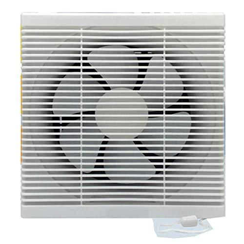 Yyl Jalousien Belüften der Wand befestigter Ventilator Frequenzumsetzung Fan Ventilation Extractor Leistungsstarke Anlage Convenient Mute 290 * 290mm