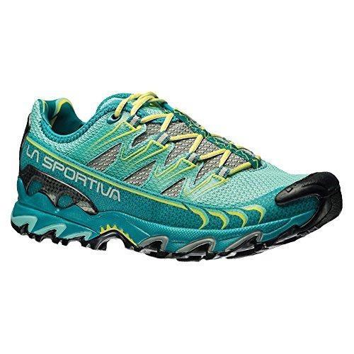 La Sportiva Ultra Raptor Women's Mountain Trail Running Shoe, Emerald/Mint, 37.5