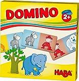 HABA 303764 - HABA-Lieblingsspiele ? Domino Baustelle | Dominospiel mit 15 Dominosteinen aus Pappe | Bunte Baustellenmotive zum Benennen und Kombinieren | Spielzeug ab 2 Jahren -