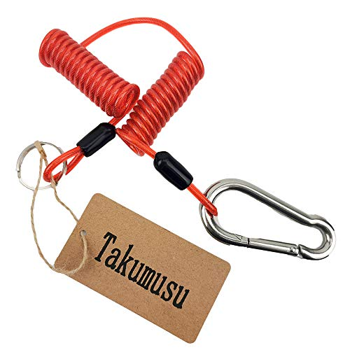 Best Price! Takumusu 6 Foot Breakaway Cable for RV Trailer Emergency Safety Cable for RV Towing Cara...