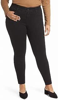 Jag Jeans Womens Jeans Black Size 24W Plus Stretch Skinny Smooths-Tummy