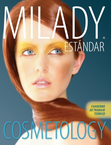 Spanish Translated Theory Workbook For Milady Standard Cosmetology 2012 Cosmetologia Estandar De Milady