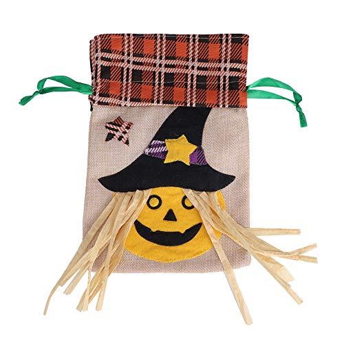 Rotekt Halloween Feestvakantie Trick of Behandel Snoep Trekkoord Tas voor Kostuum Accessoire