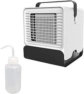 USB Refroidisseur dair Ventilateur de Climatisation Mobile Mini Personnel Air Refroidisseur Humidificateur Bearbelly Mini Climatiseur Portable Blanc