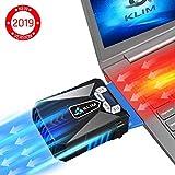 KLIM Cool Refroidisseur - PC Ventilo Portable Gamer - Ventilateur Haute Performance pour Refroidissement Rapide - Extracteur d'air...