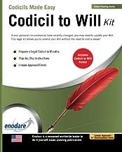 Codicil to Will Kit