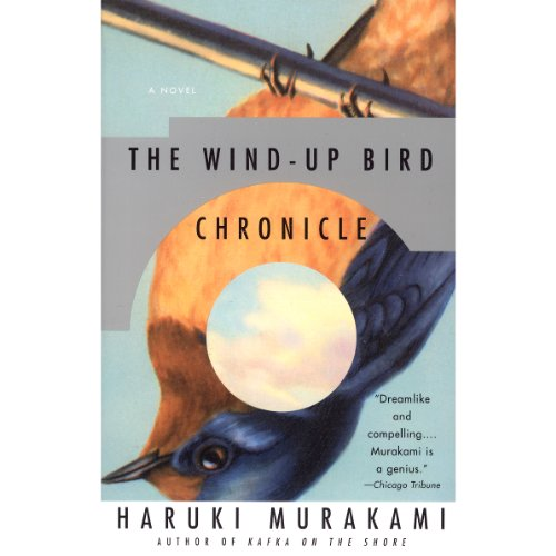 The Wind-Up Bird Chronicle audiobook cover art