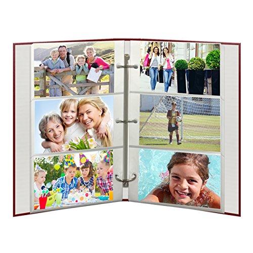 Pioneer Photo Albums Páginas de Recambio para álbumes de Fotos STC-46, STC-46D, STC-204 y STC-504, 30 Bolsillos, para Fotos de 4 x 6