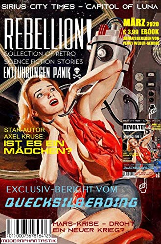 Rebellion in Sirius City: Collection of Retro Science Fiction Stories