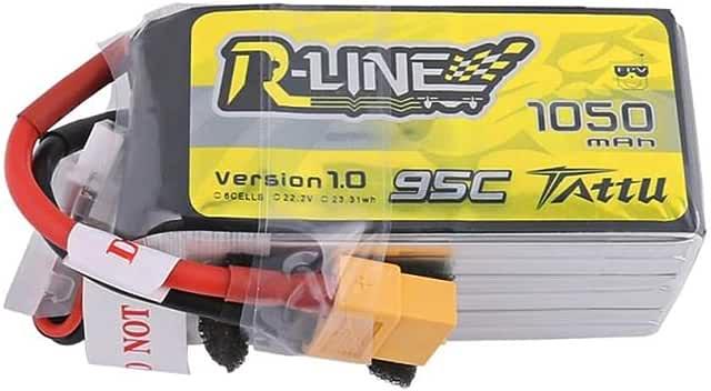 TATTU R-LINE Version 1.0 22.2V 1050mAh 95C